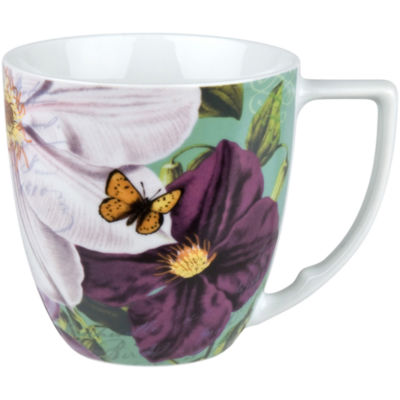 Impressions Set of 4 Clematis Mugs