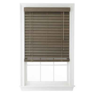 """JCPenney Home™ 2½"""" Wood Blinds"""