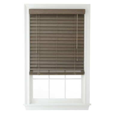 "JCPenney Home™ 2½"" Wood Blinds"