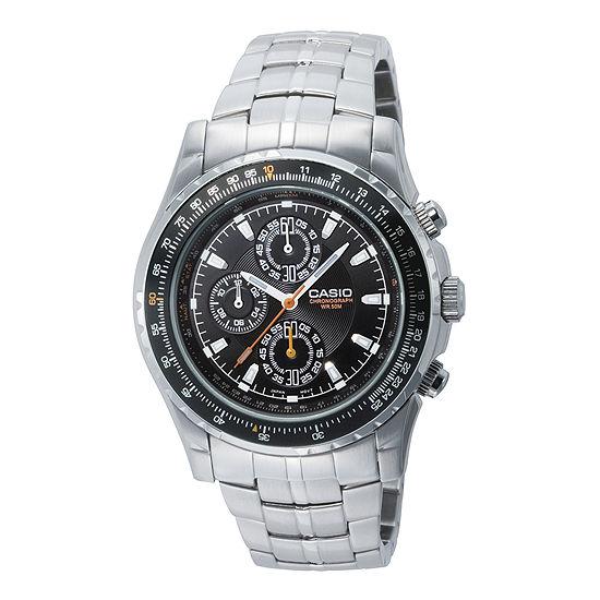Casio Mens Silver Tone Stainless Steel Bracelet Watch-Mtp4500d-1av