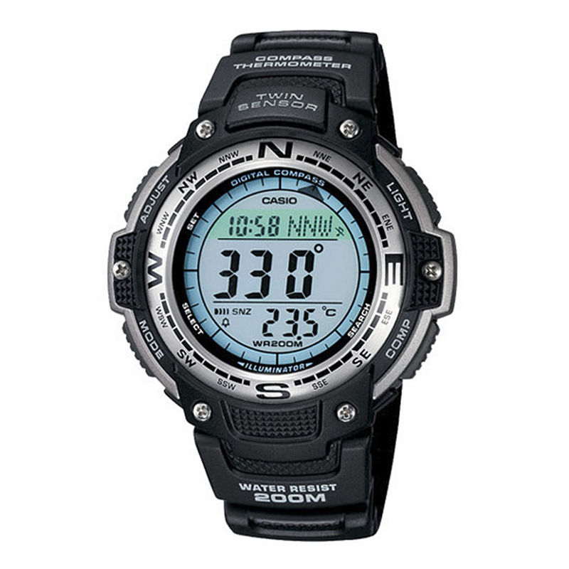 Casio Twin Sensor Mens Compass/Thermometer Watch SGW100-1V