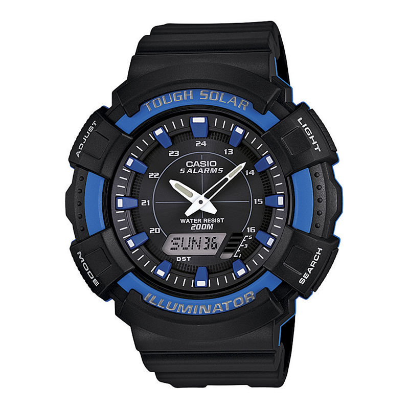 Casio Tough Solar Illuminator Mens Analog/Digital Sport Watch ADS800WH-2A2