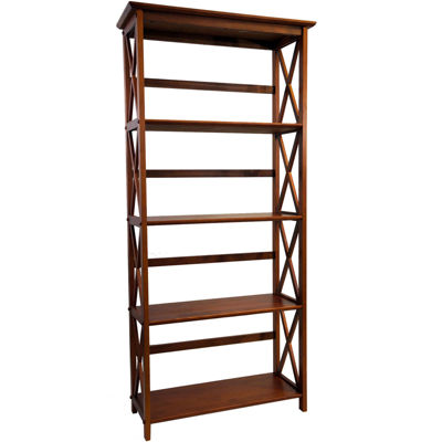 Montego 5-Tier Bookcase