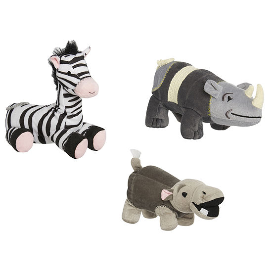 Animal Planet™ Set of 3 Plush Pet Toys