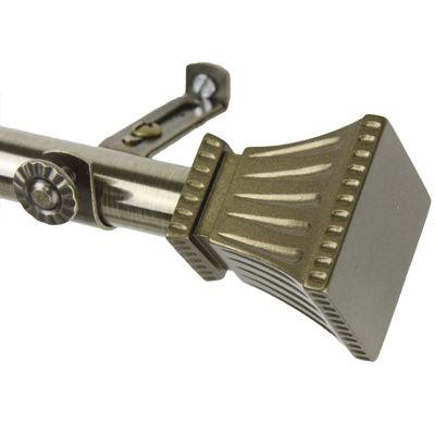 "Rod Desyne Trumpet 13/16"" Adjustable Curtain Rod"