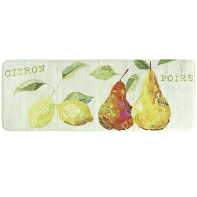 Bacova Citron et Poire Memory Foam Rug