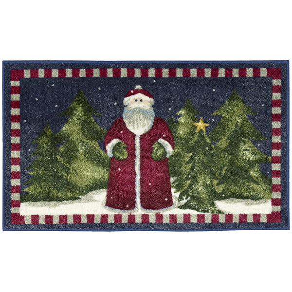 Nourison® Old World Santa Rectangular Rug