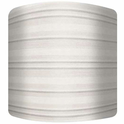 Striped Canvas Drum Lamp Shade