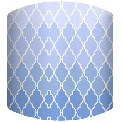 Color of the Sky Pattern Drum Lamp Shade