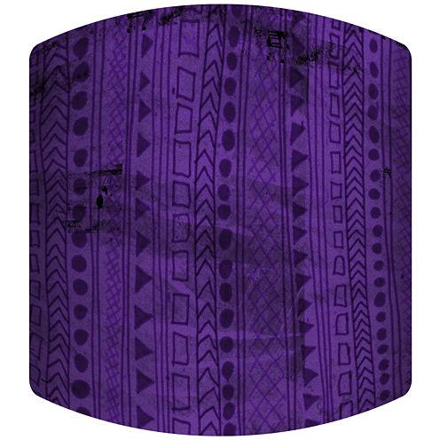 Purple Jungle Drum Lamp Shade