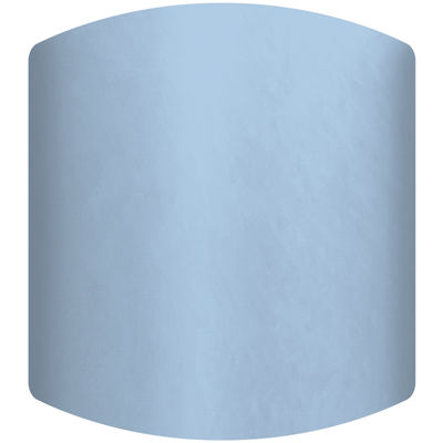 Light Blue Drum Lamp Shade