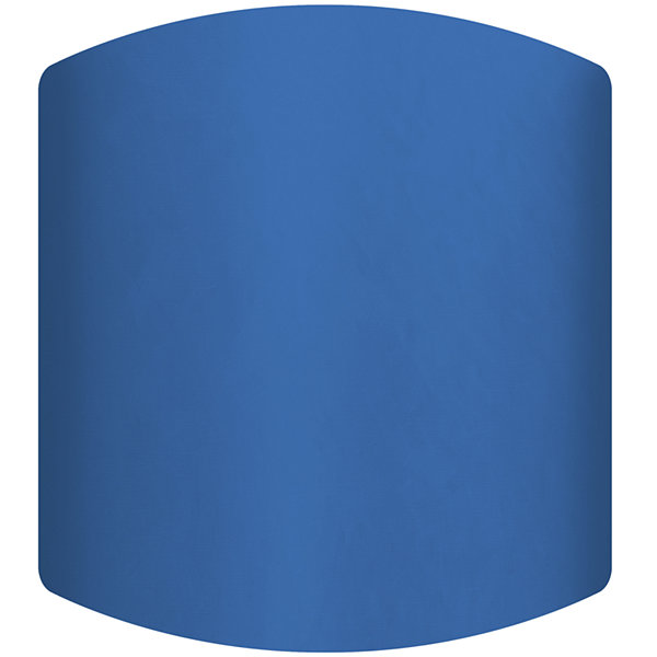 Royal Blue Drum Lamp Shade