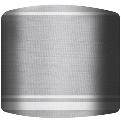 Gray Space Drum Lamp Shade