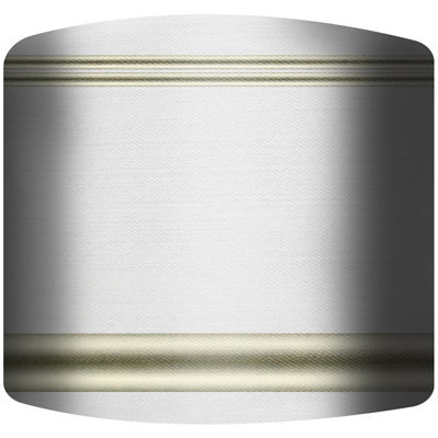Gold Stripes Drum Lamp Shade