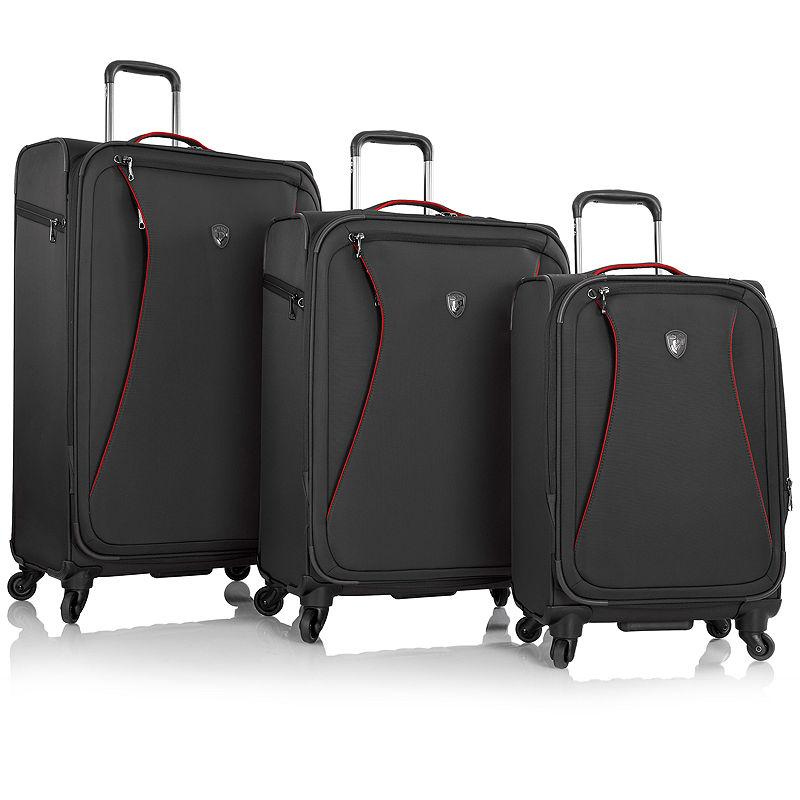 Heys Helix Softside 3-pc. Spinner Luggage Set