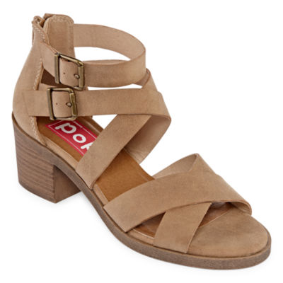 Pop Nicole Womens Wedge Sandals
