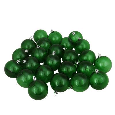 "16ct Green Transparent Shatterproof Christmas BallOrnaments 3.25"" (80mm)"""