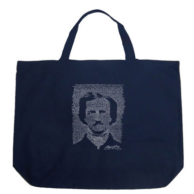 Los Angeles Pop Art Edgar Allen Poe - The Raven Tote