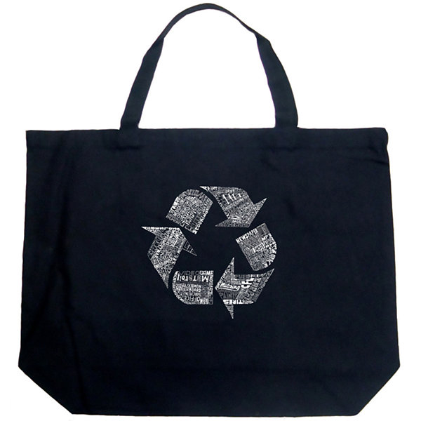Los Angeles Pop Art 86 Recyclable Products Tote