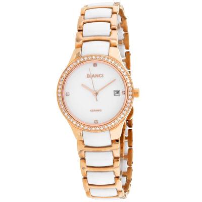 Roberto Bianci Womens Two Tone Bracelet Watch-Rb2953