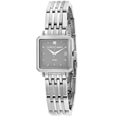 Roberto Bianci Womens Silver Tone Bracelet Watch-Rb18090