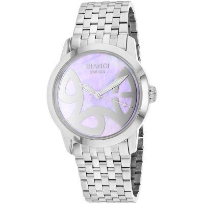 Roberto Bianci Womens Silver Tone Bracelet Watch-Rb18580