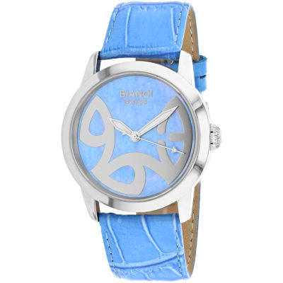 Roberto Bianci Womens Blue Bracelet Watch-Rb18583