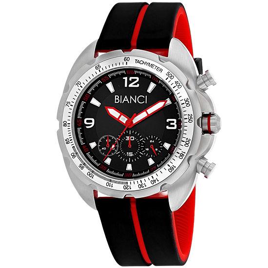 Roberto Bianci Mens Black Bracelet Watch-Rb55060