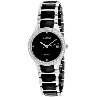 Roberto Bianci Womens Two Tone Bracelet Watch-Rb2941