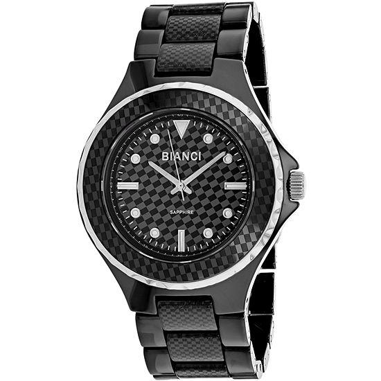 Roberto Bianci Womens Black Bracelet Watch - Rb2790