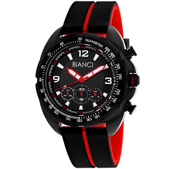 Roberto Bianci Mens Black Bracelet Watch-Rb55061