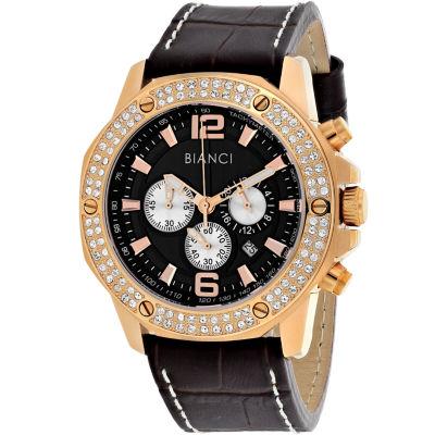 Roberto Bianci Mens Brown Bracelet Watch-Rb54500