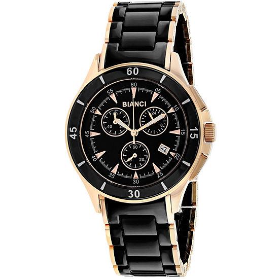 Roberto Bianci Womens Two Tone Bracelet Watch-Rb58730