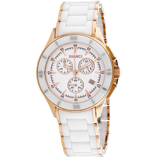 Roberto Bianci Womens Two Tone Bracelet Watch-Rb58731