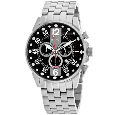 Roberto Bianci Mens Silver Tone Bracelet Watch-Rb70981