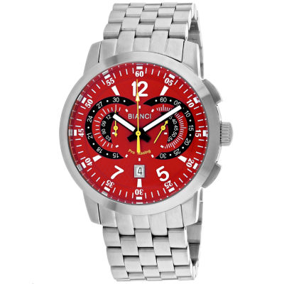 Roberto Bianci Mens Silver Tone Bracelet Watch-Rb70960