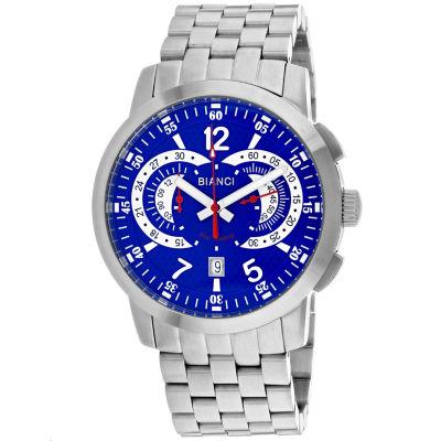 Roberto Bianci Mens Silver Tone Bracelet Watch-Rb70963