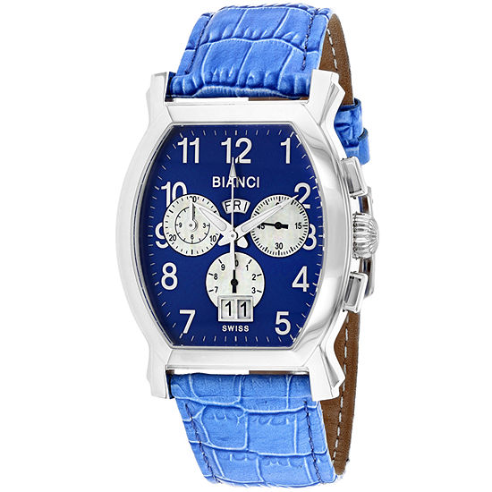 Roberto Bianci Mens Blue Bracelet Watch-Rb18620