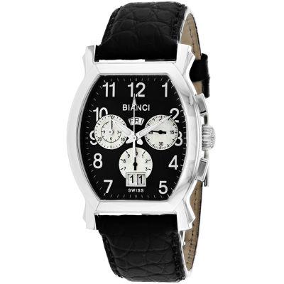 Roberto Bianci Mens Black Bracelet Watch-Rb18621