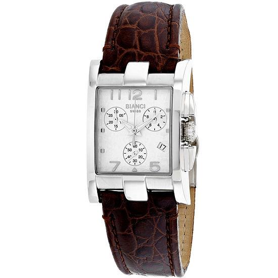Roberto Bianci Womens Brown Leather Bracelet Watch-Rb90360