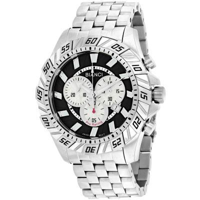 Roberto Bianci Mens Silver Tone Bracelet Watch-Rb70601