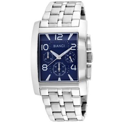 Roberto Bianci Mens Silver Tone Bracelet Watch-Rb54450