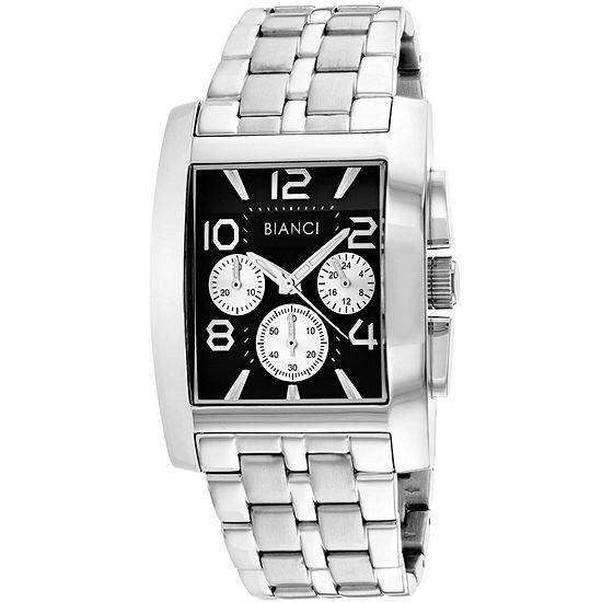 Roberto Bianci Mens Silver Tone Bracelet Watch Rb54451