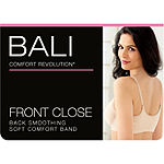 Bali Comfort Revolution® Front Close Shaping Underwire T-Shirt Full Coverage Bra-3p66