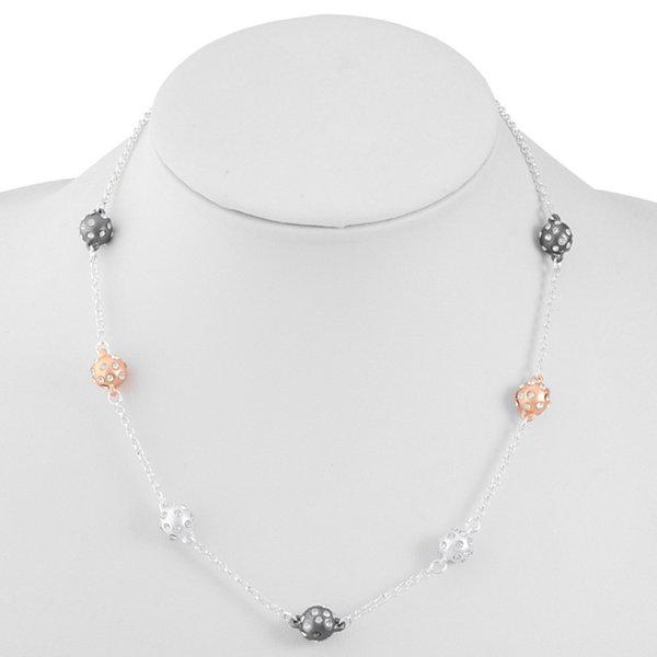 Liz Claiborne Liz Claiborne Womens Clear Collar Necklace jJfHTq6