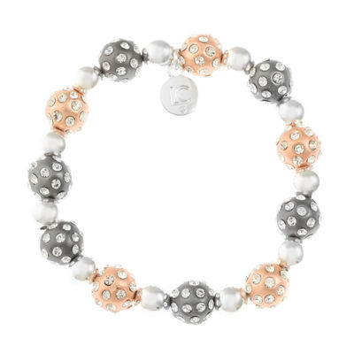 Liz Claiborne Womens Clear Stretch Bracelet