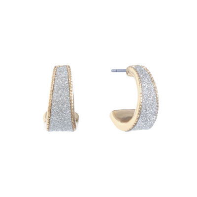 Monet Jewelry 18mm Hoop Earrings