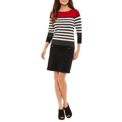Alyx Long Sleeve Sweater Dress - Petites