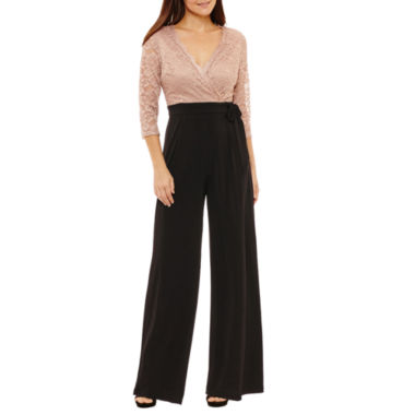 Melrose Long Sleeve Jumpsuit-Petites