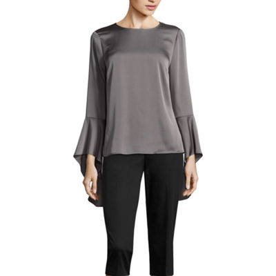 Worthington Cascade Bell Sleeve Top - Tall
